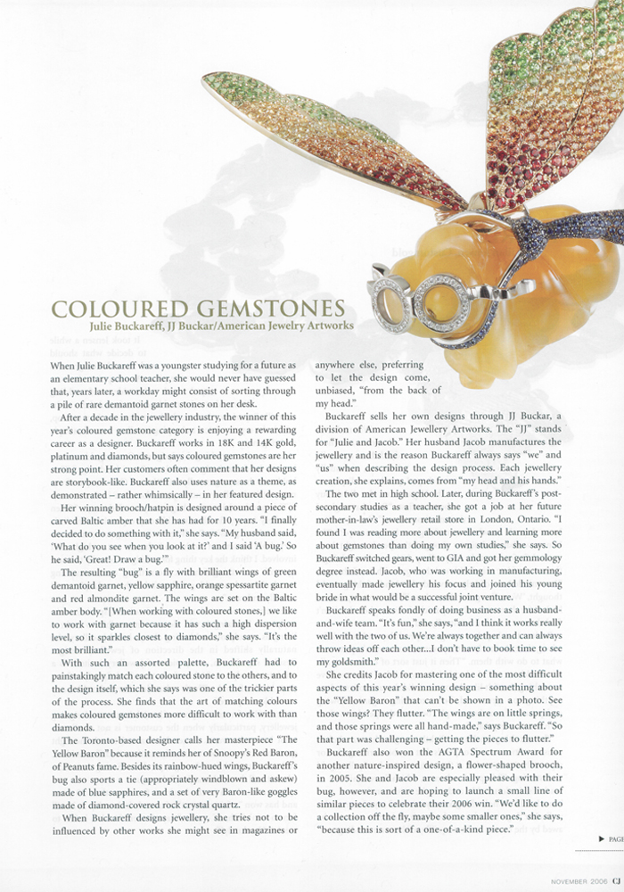 Canadian Jeweller, November 2006