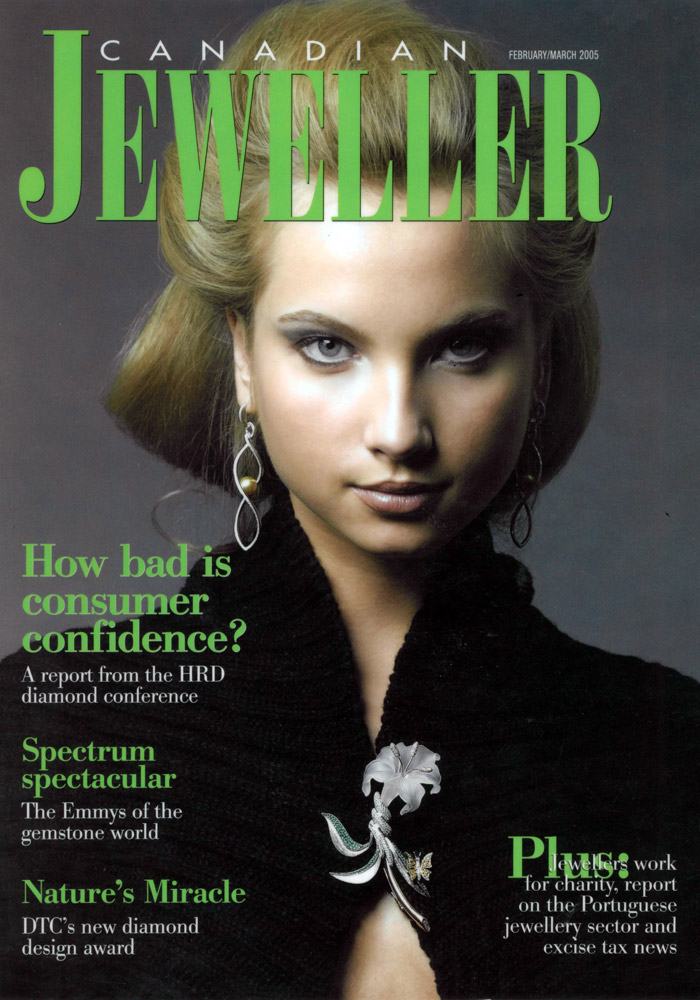Canadian Jeweller Cover (2005)