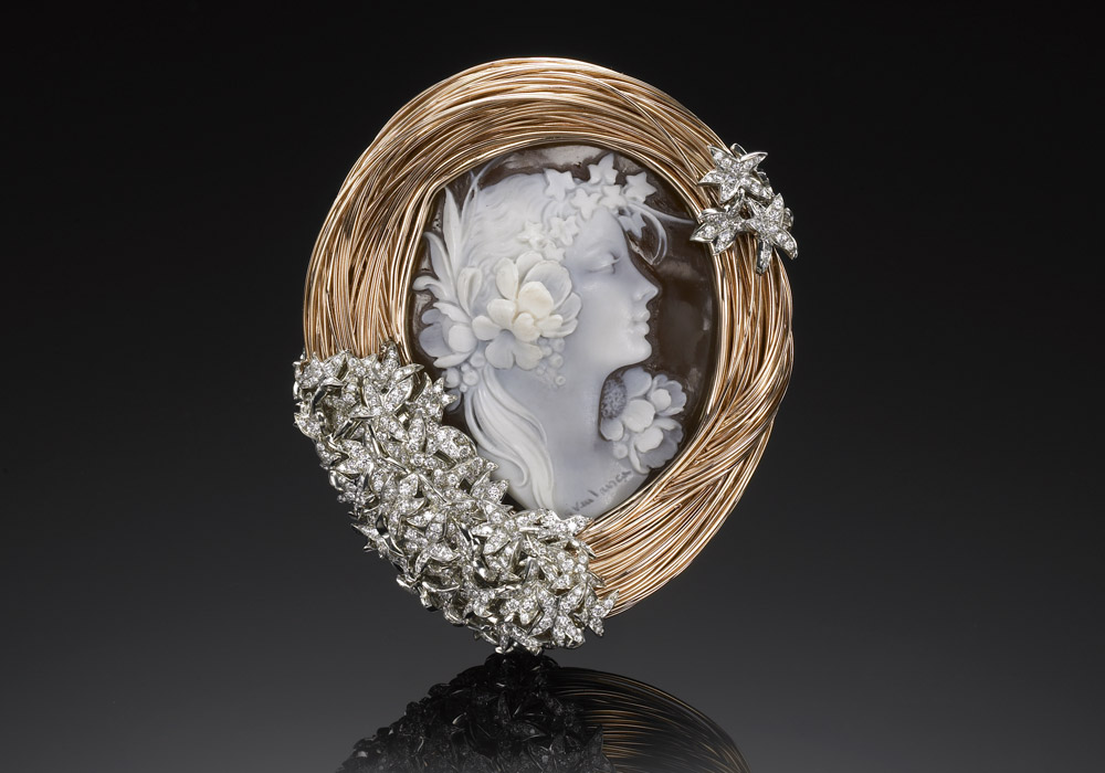 Bird's Nest Broach