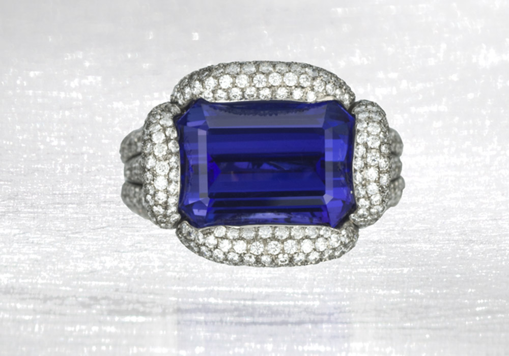 Tanzanite Diamond Rope